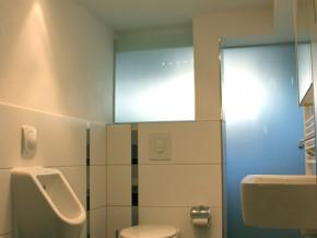 Gäste-WC im Untergeschoss